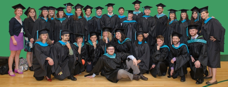 2013 Hooding Ceremony - MURPs green background